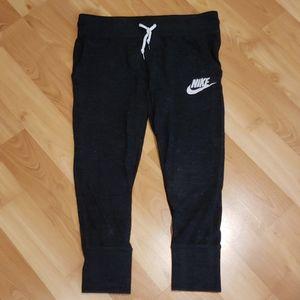 Nike capri sweats